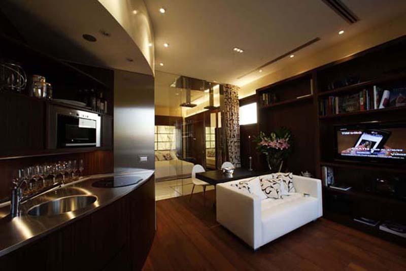 Antonio saporito architettura design firenze for Interni di appartamenti